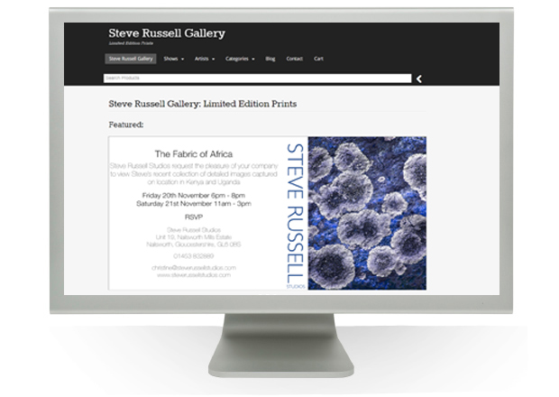 Link to Steve Russell Gallery Website