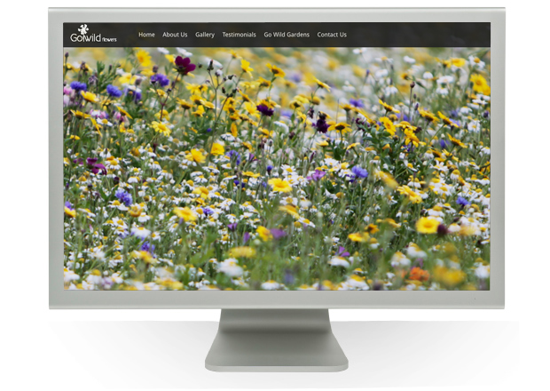 Link to Go Wild Flowers Website